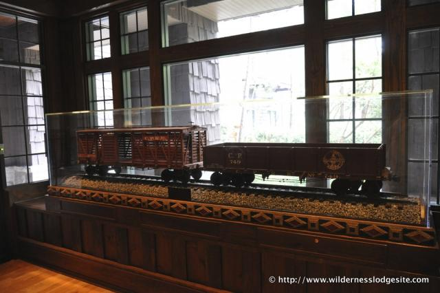 Walts Carolwood Train Cars